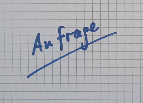 Friedrich Lange - Anfrage
